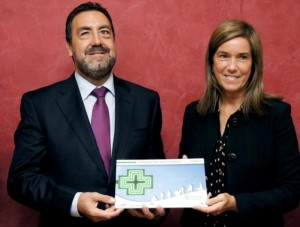 Ana Mato y Miguel Carballeda