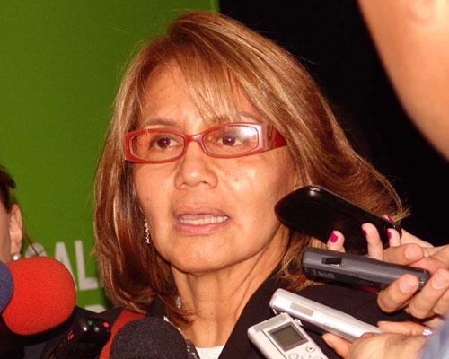 La viceministra de Recursos para la Salud, Nuramy Gutiérrez