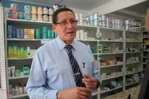 El presidente del Colegio de Farmacéuticos en Monagas, Héctor Barreto