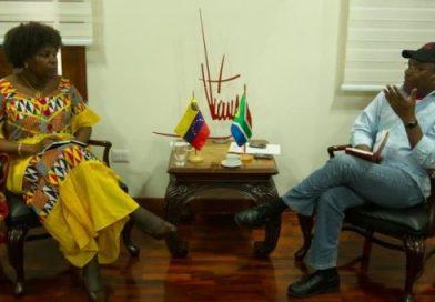 Venezuela estrecha relaciones con Sudáfrica y Palestina para impulsar motores productivos