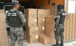 Más de 1,300 cajas de medicamentos fueron decomisadas en Comayagüela