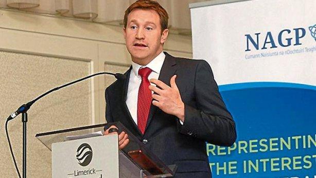 Emmet Kerin, presidente de los médicos de AP de Irlanda