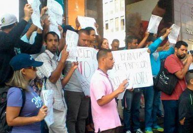 Trabajadores de Quimbiotec exigieron contrato colectivo