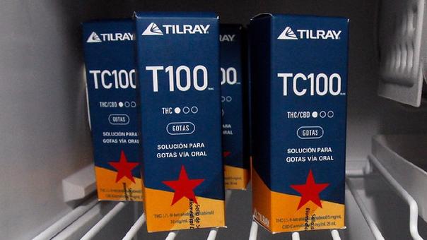 Los productos T100 y TC100 provienen del laboratorio canadiense Tilray.