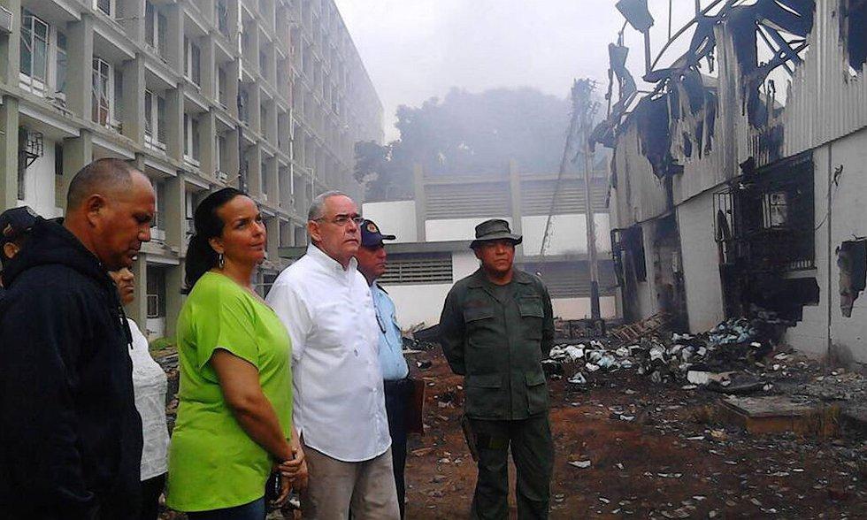 Gobernador de Bolívar repudió acto vandálico contra Hospital Ruiz y Páez