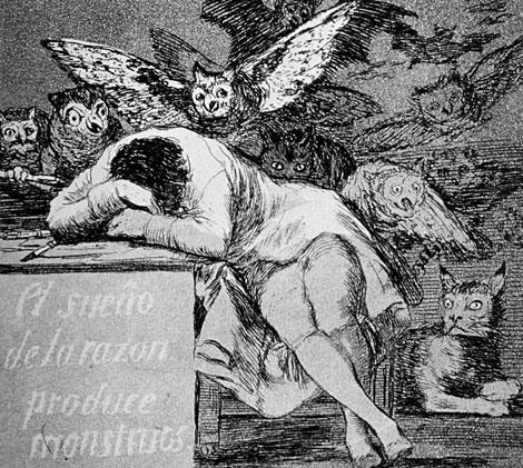 El-sueño-de-la-razón.-Goya