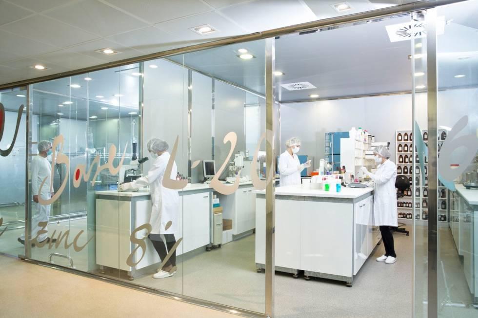 Imagen del laboratorio de Procare Health.