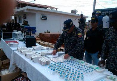 Desmantelaron laboratorio clandestino que adulteraba medicamentos en Zulia