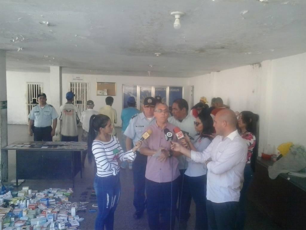 Gobierno del Zulia desmanteló banda dedicada al robo y reventa de medicamentos en adyacencias del Hospital Chiquinquirá