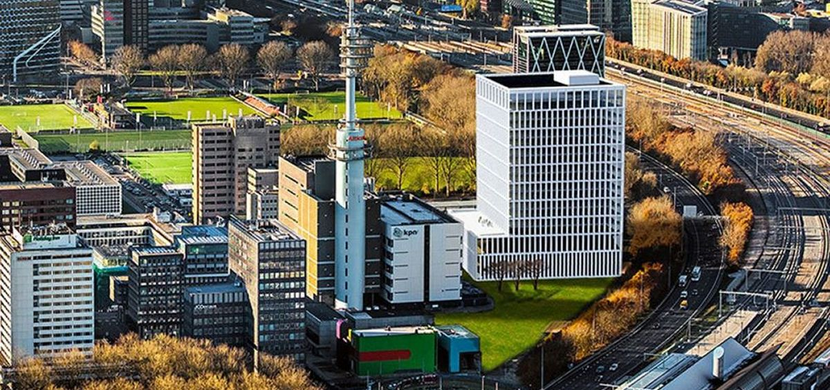 Futura sede de la EMA en Ámsterdam