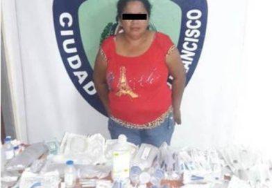 Zulia: Mujer fue capturada por vender medicamentos robados por su marido del Hospital Rafael Belloso